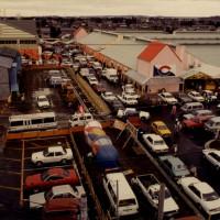 1985年(S.60) 3月頃 建設中の焼津さかなセンター